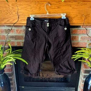 3 for$20 Rewind brand brown capri pants juniors 11